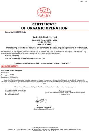 SA - Certificat NOP_V11